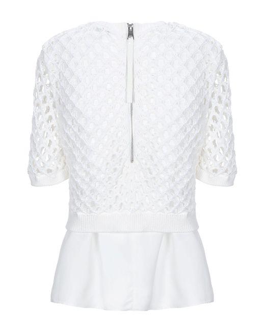 KENZO Pullover de mujer de color blanco tbp9K