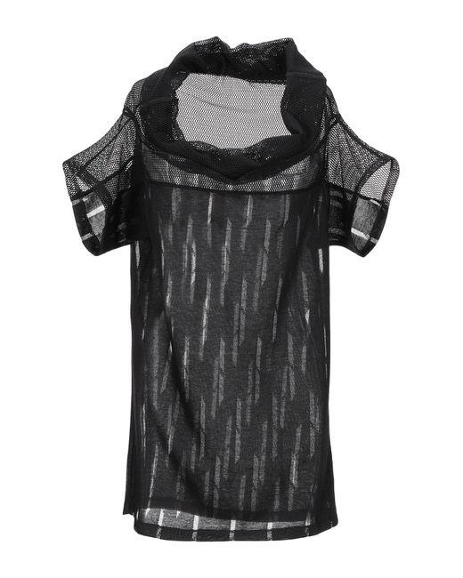 Pianurastudio Black T-shirt