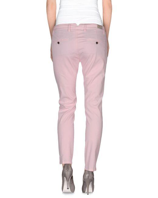 Pantalones TRUE NYC de color Pink