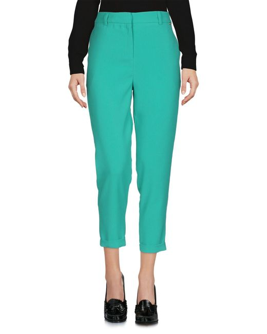 Pantalones Annarita N. de color Green