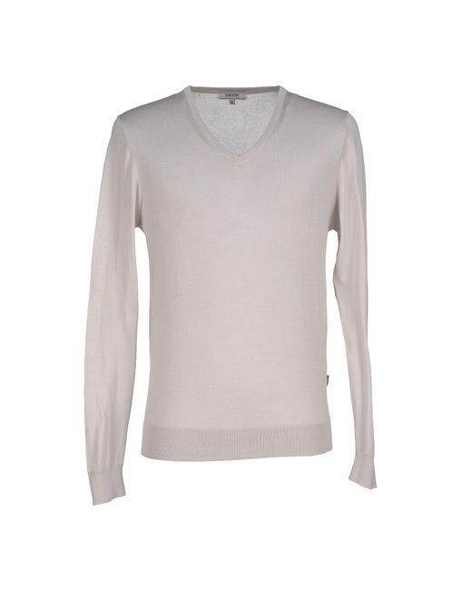 Geox - Gray Sweaters for Men - Lyst