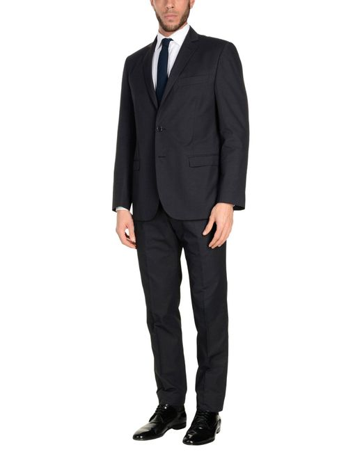 Montezemolo - Gray Suits for Men - Lyst