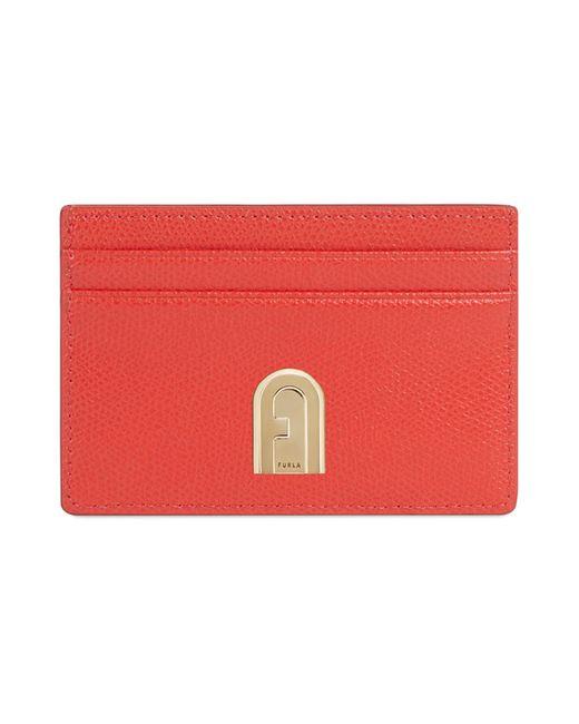 Porte-documents Furla en coloris Red