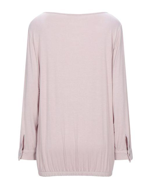 Ean 13 Camiseta de mujer de color rosa umFzH