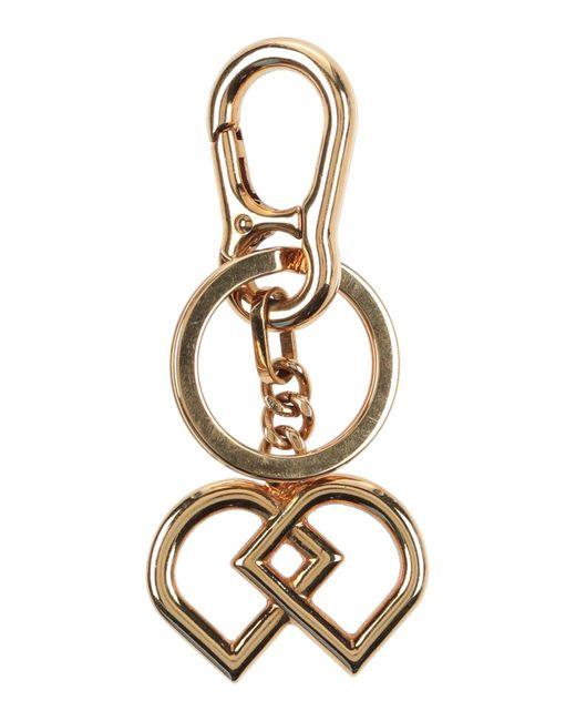 DSquared² Metallic Key Ring for men