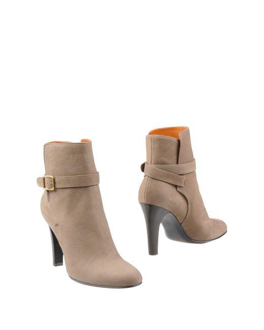 Michel Vivien | Natural Ankle Boots | Lyst