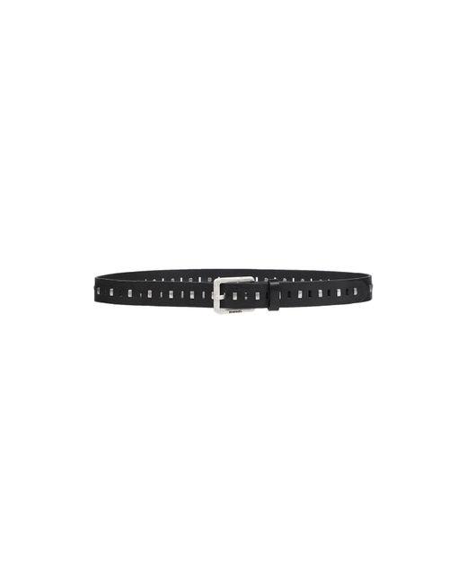 Cinturón DIESEL de hombre de color Black