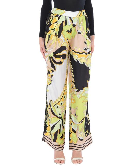 Pantalon Annarita N. en coloris Multicolor