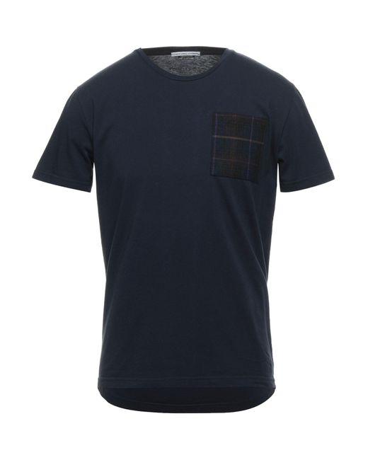 Camiseta Grey Daniele Alessandrini de hombre de color Blue