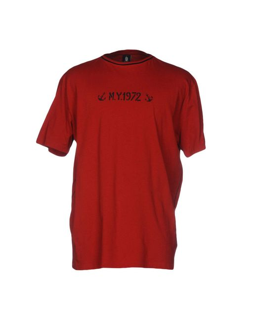Marina Yachting | Red T-shirt for Men | Lyst