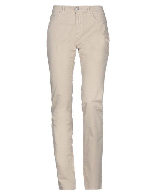 Tru Trussardi Natural Casual Pants