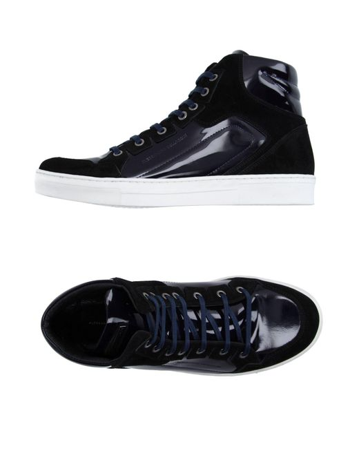 Alessandro Dell'acqua   Blue High-tops & Sneakers for Men   Lyst