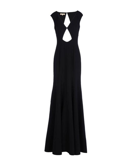 Michael Kors - Black Long Dress - Lyst