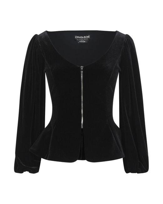 La Petite Robe Di Chiara Boni Blusa de mujer de color negro wvoLH