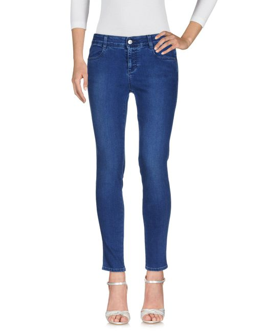 Stella McCartney Blue Denim Trousers