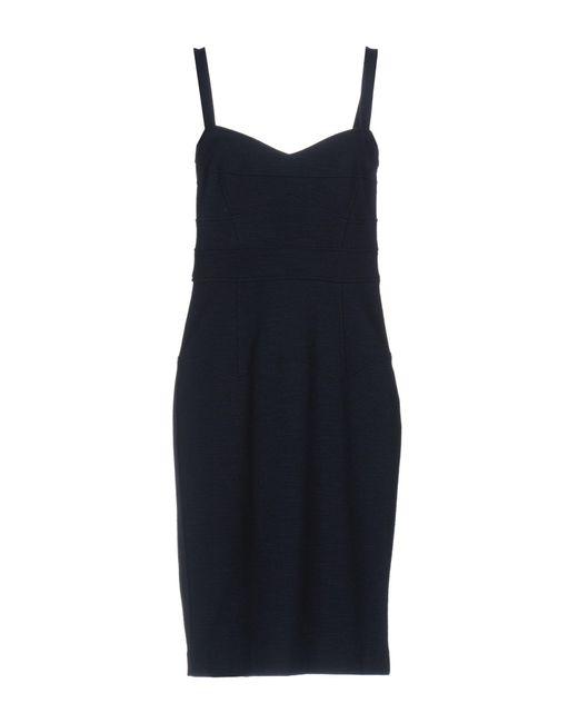 Diane von Furstenberg - Blue Knee-length Dress - Lyst