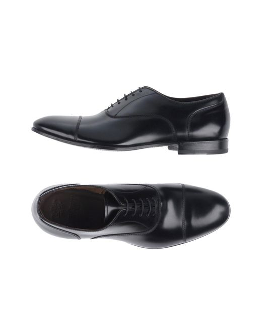 Green George - Black Lace-up Shoes for Men - Lyst
