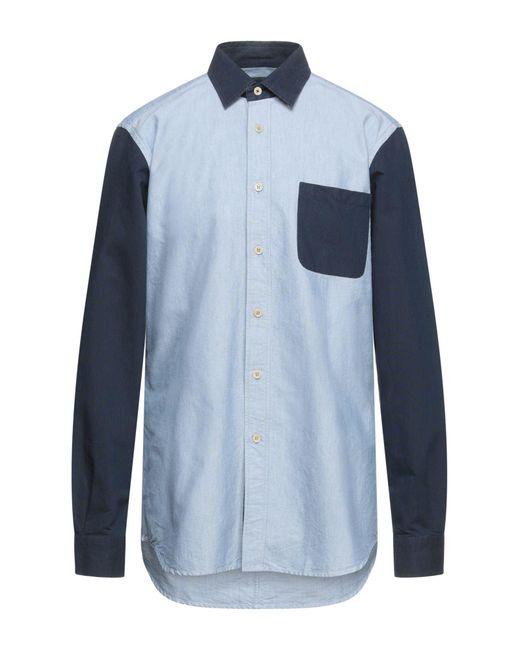 Camisa Belstaff de hombre de color Blue