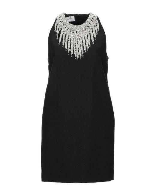 Dondup Black Short Dress