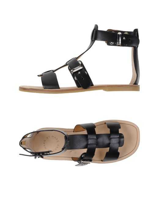 Marc By Marc Jacobs - Black Sandals - Lyst
