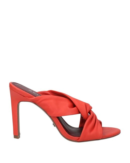 Reiss Red Sandals