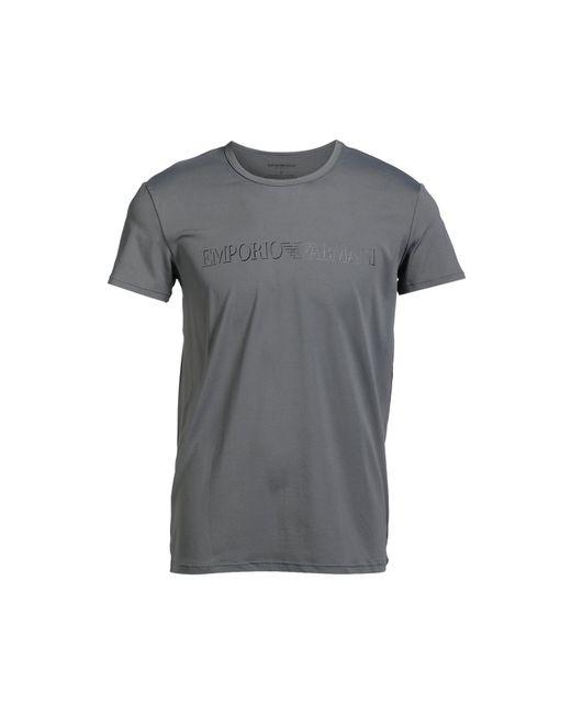 Emporio Armani - Gray T-shirt for Men - Lyst