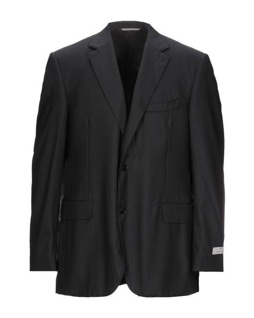 Giacca di Canali in Black da Uomo