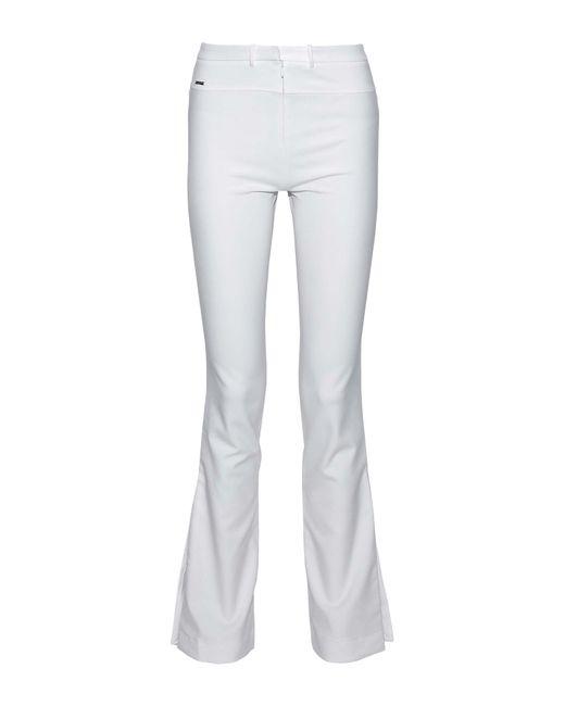Halston Heritage White Casual Trouser