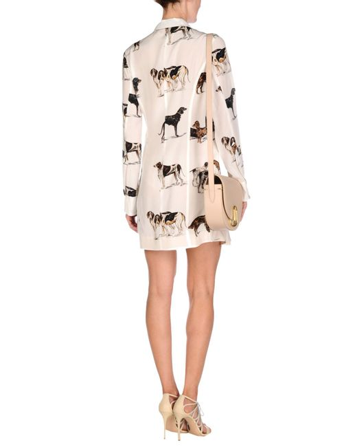 Stella McCartney White Short Dress