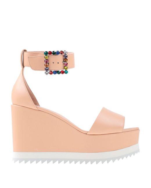 Sandales Le Silla en coloris Pink