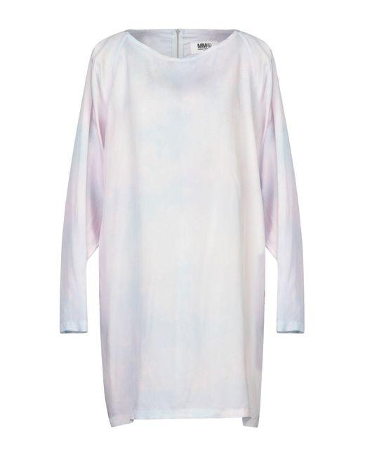 MM6 by Maison Martin Margiela Pink Short Dress