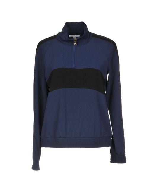 Patrizia Pepe Blue Sweatshirt