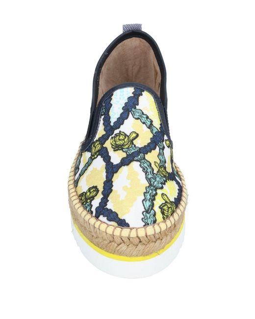 Espadrilles Trussardi en coloris Yellow
