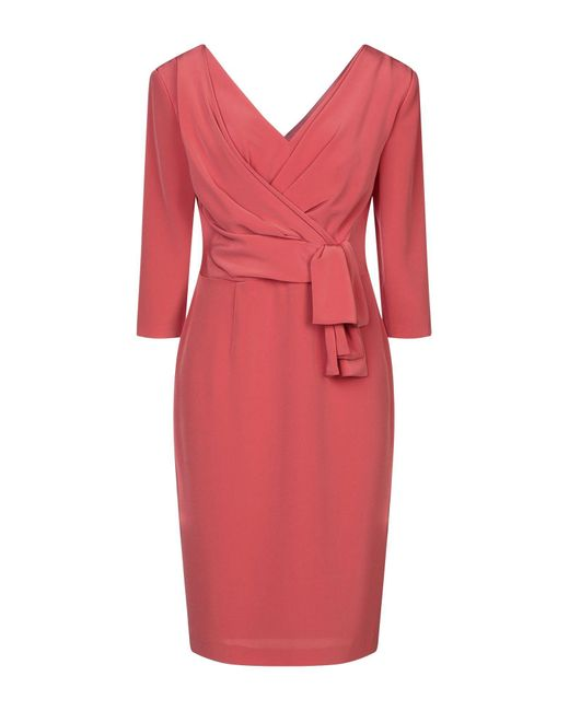 Robe aux genoux Isabel Sanchis en coloris Pink