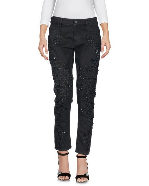 Amen - Black Denim Pants - Lyst
