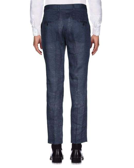 Pantalone di Grey Daniele Alessandrini in Blue da Uomo