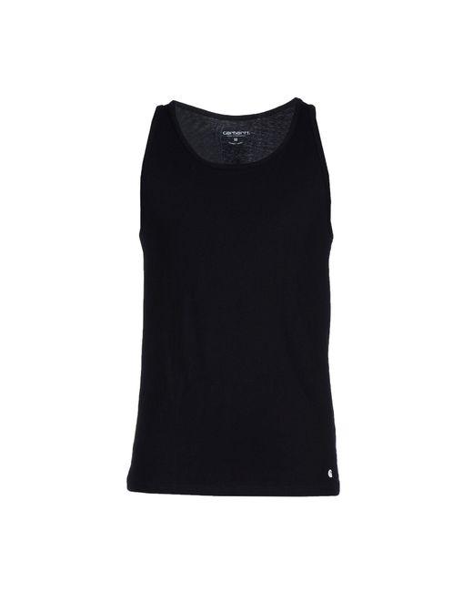 Carhartt - Black Vest for Men - Lyst
