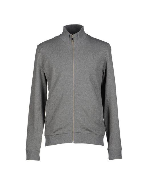 Bikkembergs Gray Sweatshirt for men