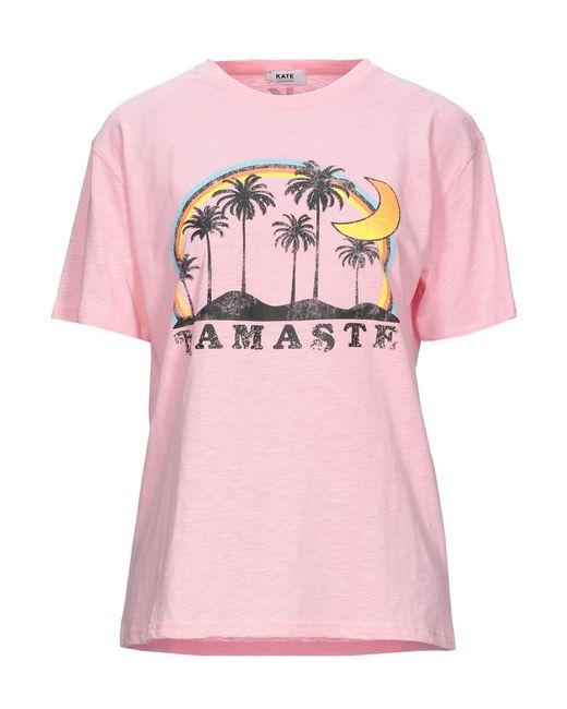KATE BY LALTRAMODA Pink T-shirts