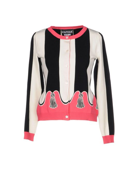 Boutique Moschino - White Cardigans - Lyst