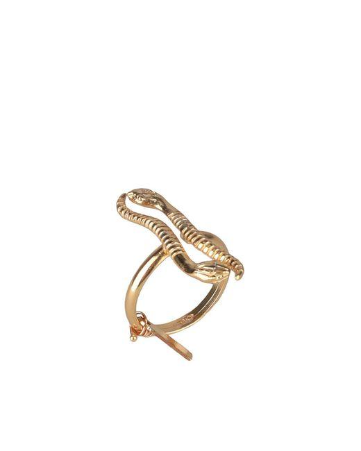 Maria Francesca Pepe Metallic Ring