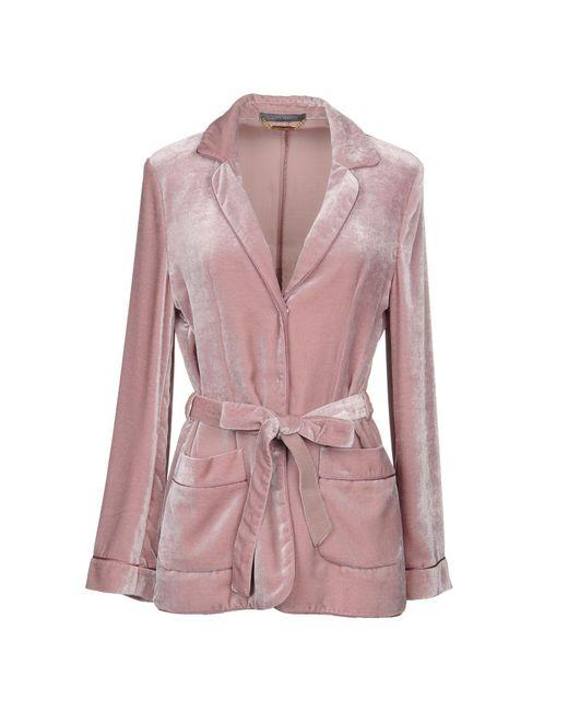 Alberta Ferretti - Pink Blazer - Lyst