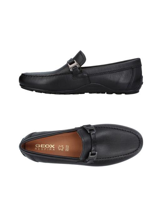 Geox | Black Loafer for Men | Lyst