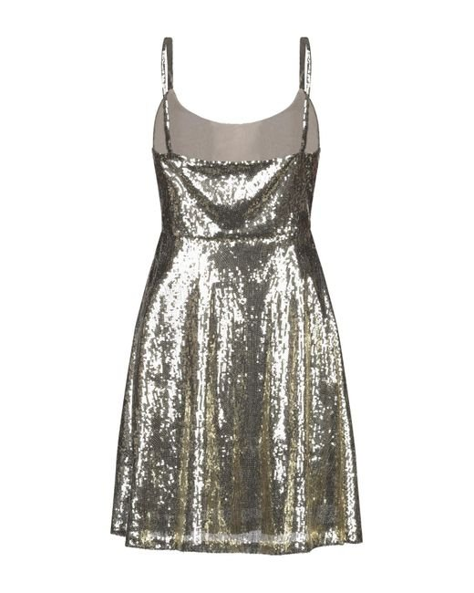 Robe courte Blugirl Blumarine en coloris Metallic