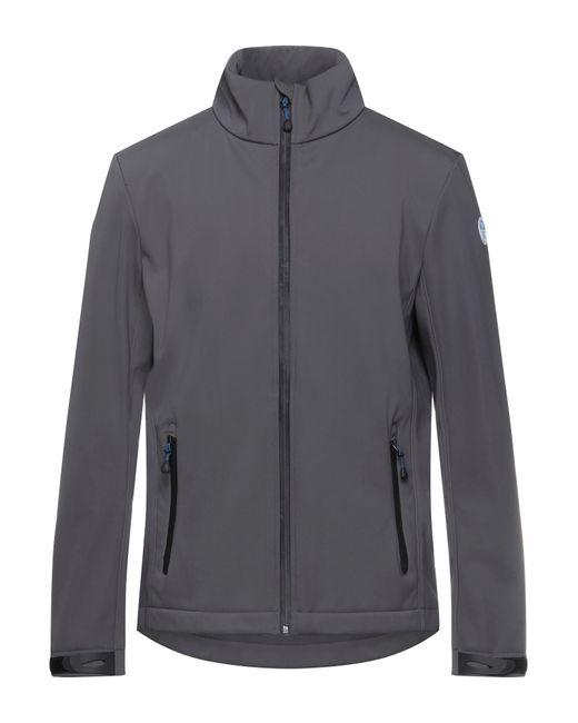 North Sails Gray Jacket for men