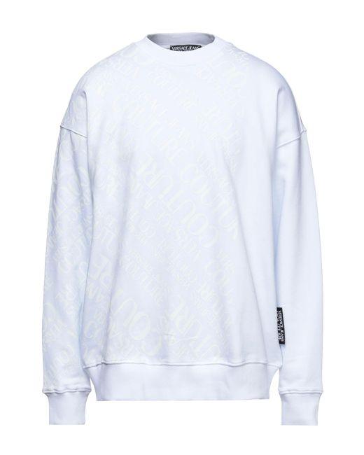 Versace Jeans White Sweatshirt for men