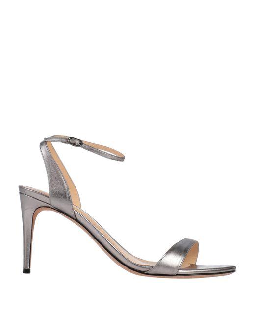 Alexandre Birman Metallic Sandals