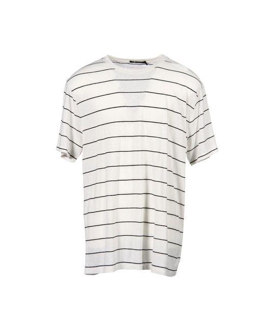 T By Alexander Wang - White T-shirt for Men - Lyst