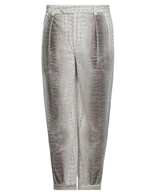Emporio Armani Hose in Gray für Herren
