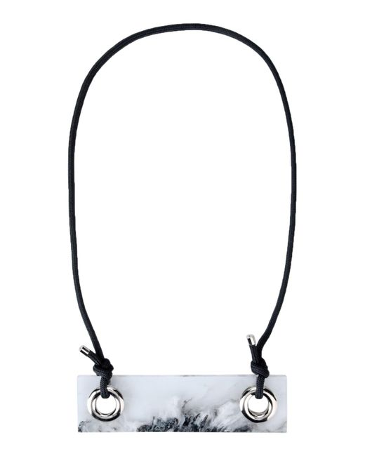 MM6 by Maison Martin Margiela Gray Necklace